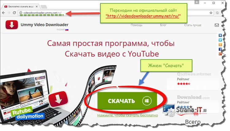 программа для скачивания видео для youtube - Ummy Video Downloader
