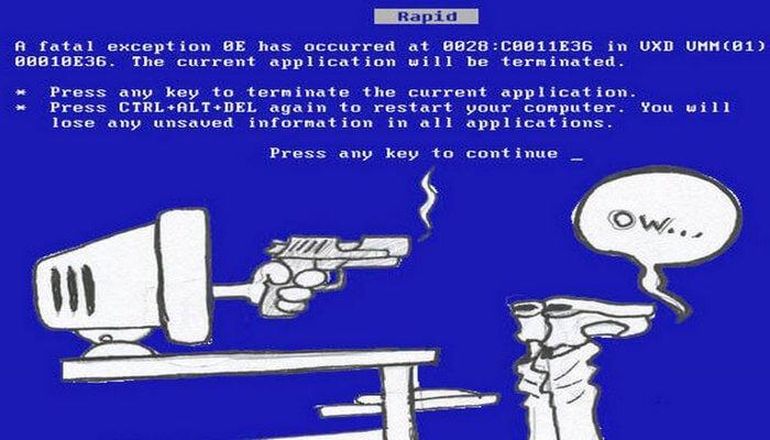 синий экран смерти что делать windows 7