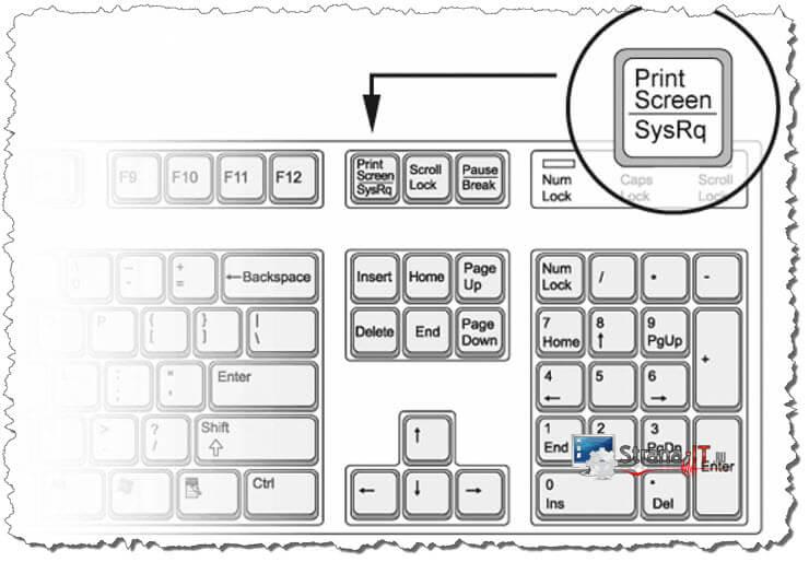 как скрин сделать экрана на компьютере