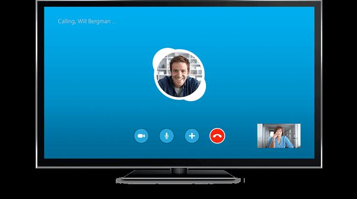 Skype на Smart TV