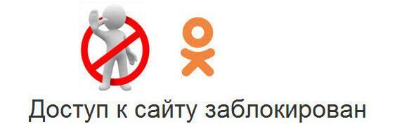 Страница заблокирована администрацией в одноклассниках