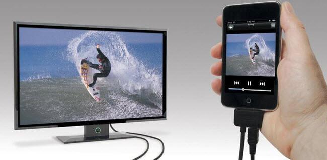 как подключить телефон к телевизору