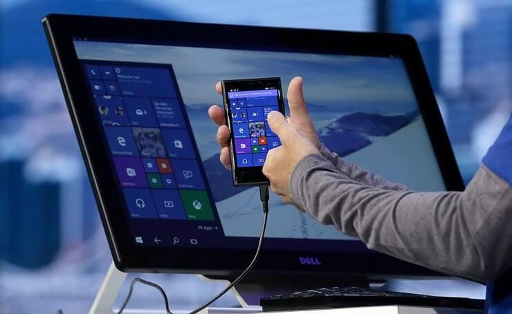Windows 10 mobile подключить к ПК