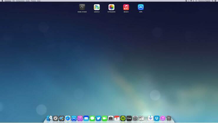 как уменьшить масштаб экрана на компьютере Mac OS X
