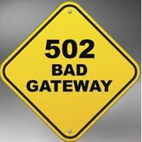 502 Bad Gateway что это значит