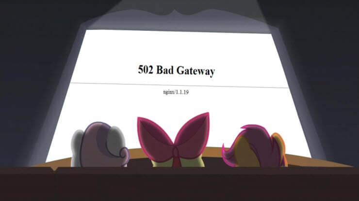 ошибка 502 bad gateway что значит