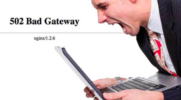 502 bad gateway nginx что это значит как исправить
