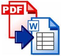 Как без затруднений распознать текст из PDF в Word