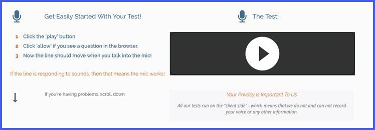 проверка веб камеры и микрофона онлайн