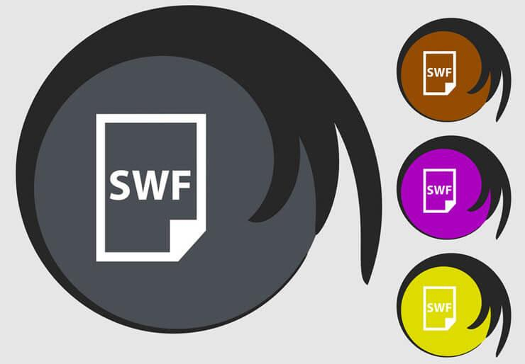 открыть файл swf онлайн
