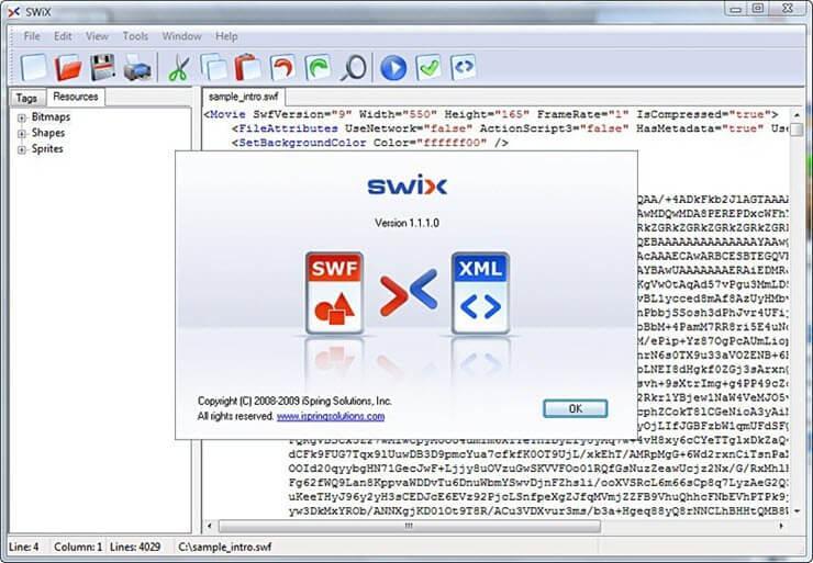 как открыть swf файл в adobe flash