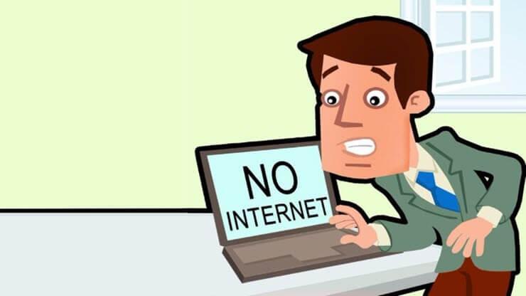 net err internet disconnected
