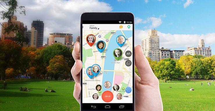 Локатор мобильных устройств phone-location.net