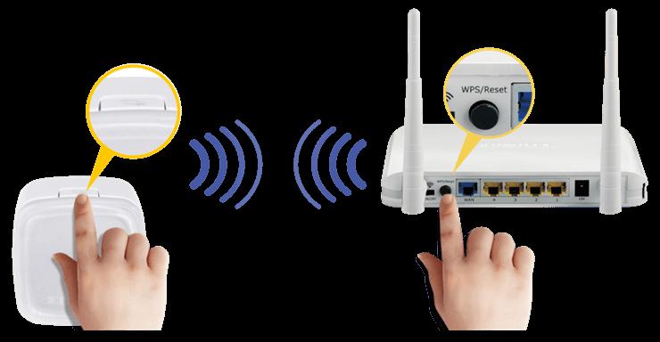 Подключение к Wi-Fi по протоколу WPS для различных устройств.