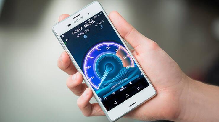 медленный интернет на смартфоне