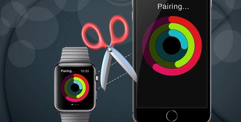 Как отвязать Apple Watch от телефона