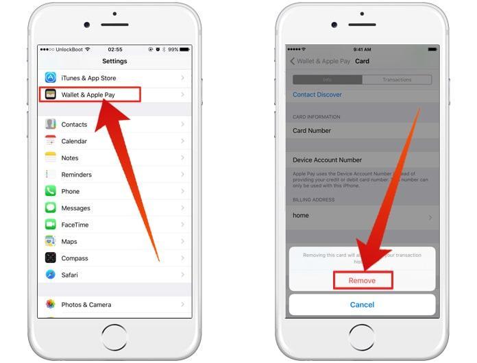 Apple Pay и iMessage