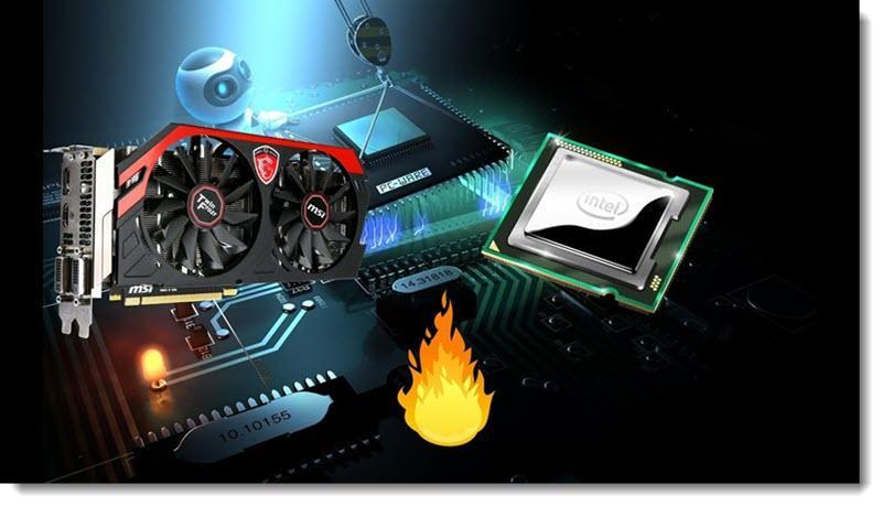 Видеокарта и процессор