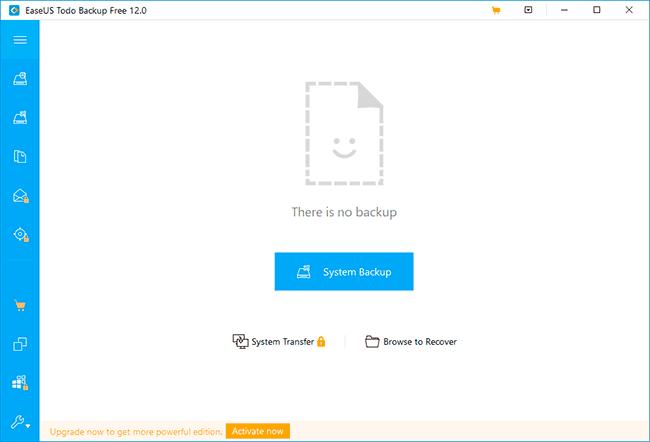 клонирование диска EaseUS ToDo Backup Free