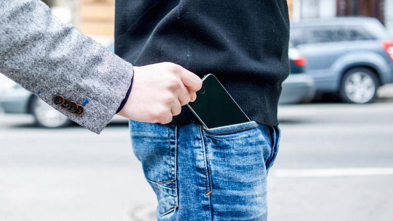 Что делать если телефон украли