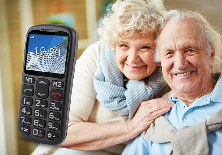 Хороший кнопочный телефон для пожилого человека