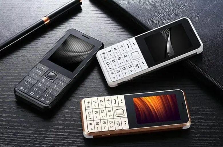 Классический кнопочный телефон