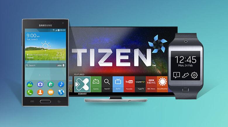 Samsung с ОС Tizen