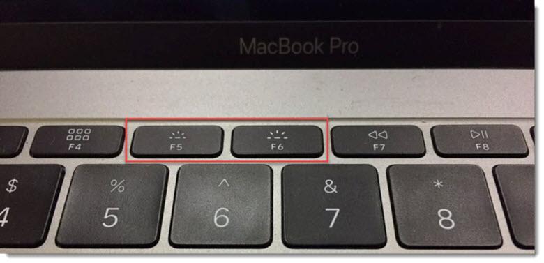 подсветка клавиатуры на Mac