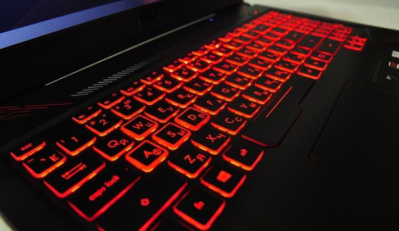 Asus подсветка клавиатуры ноутбука