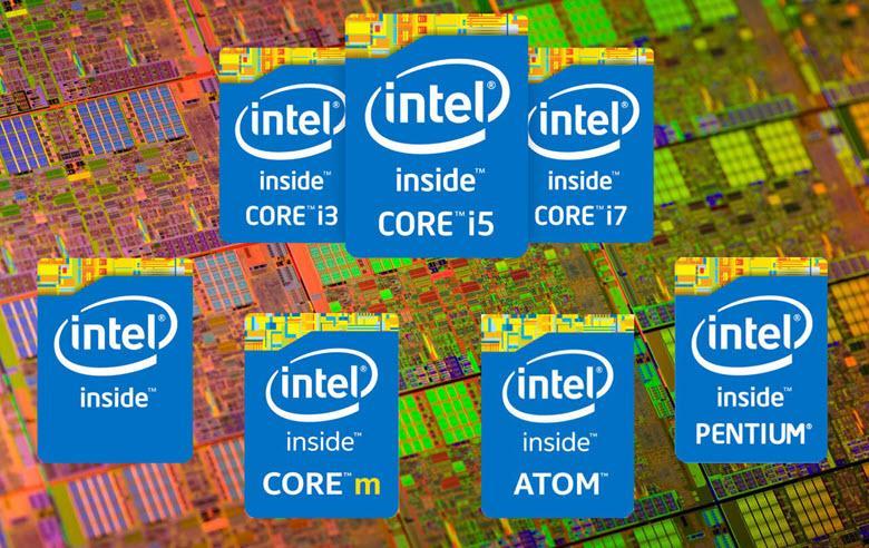 Линейка процессоров Intel