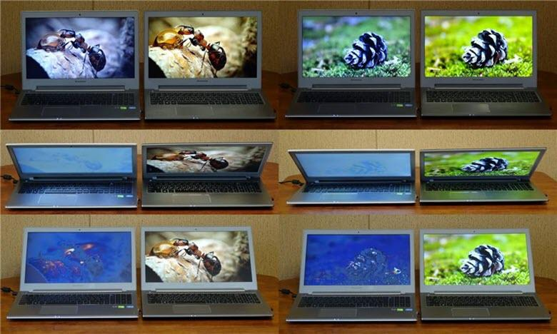 Типы матриц в ноутбуках